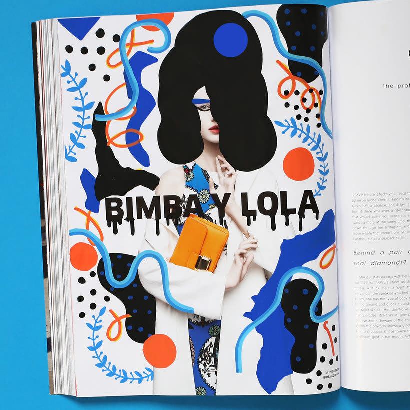 Andreea Robescu, donde Ilustración y moda se diluyen 16