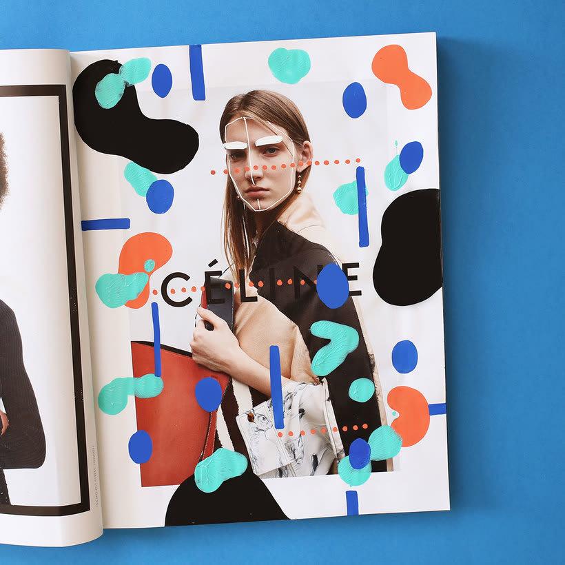 Andreea Robescu, donde Ilustración y moda se diluyen 20