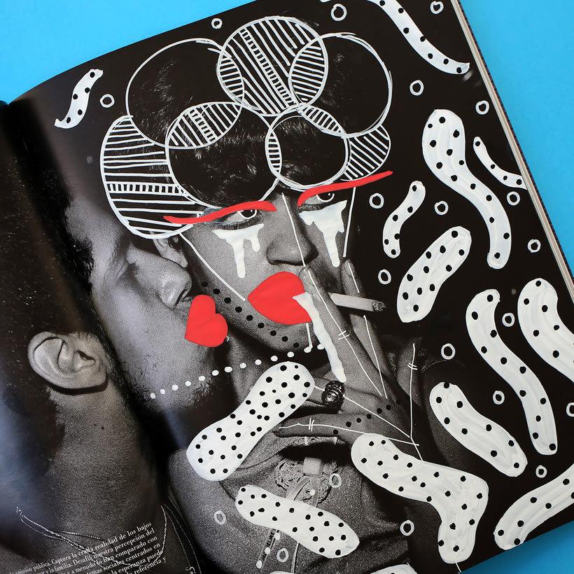 Andreea Robescu, donde Ilustración y moda se diluyen 24