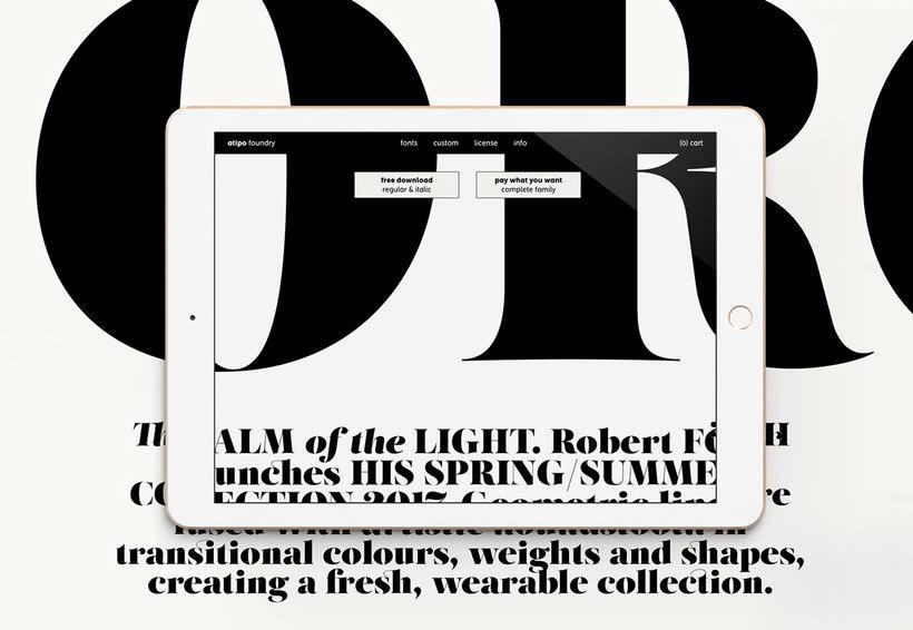El estudio atipo estrena fundición tipográfica 10