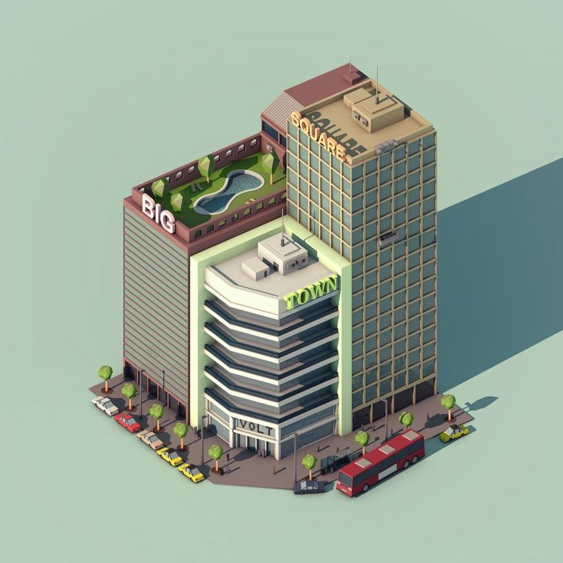 Big City Square -1