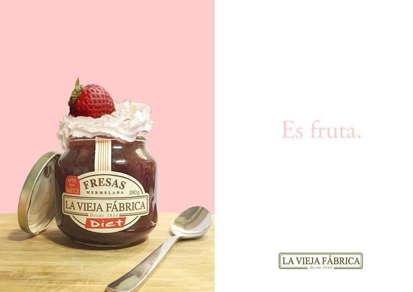 Campaña de publicidad, ficticia para La vieja Fábrica. -1