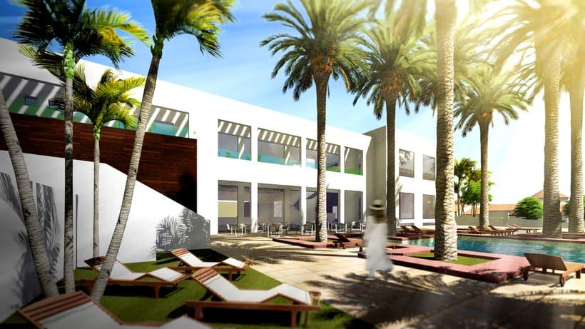 Ampliación de hotel en Sotogrande 0