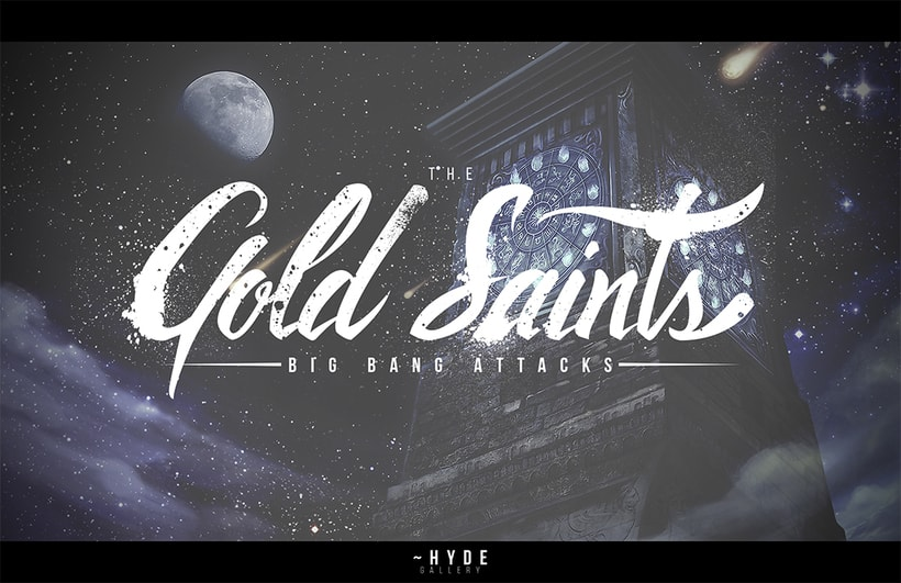Gold Saints - Big Bang Attacks 1
