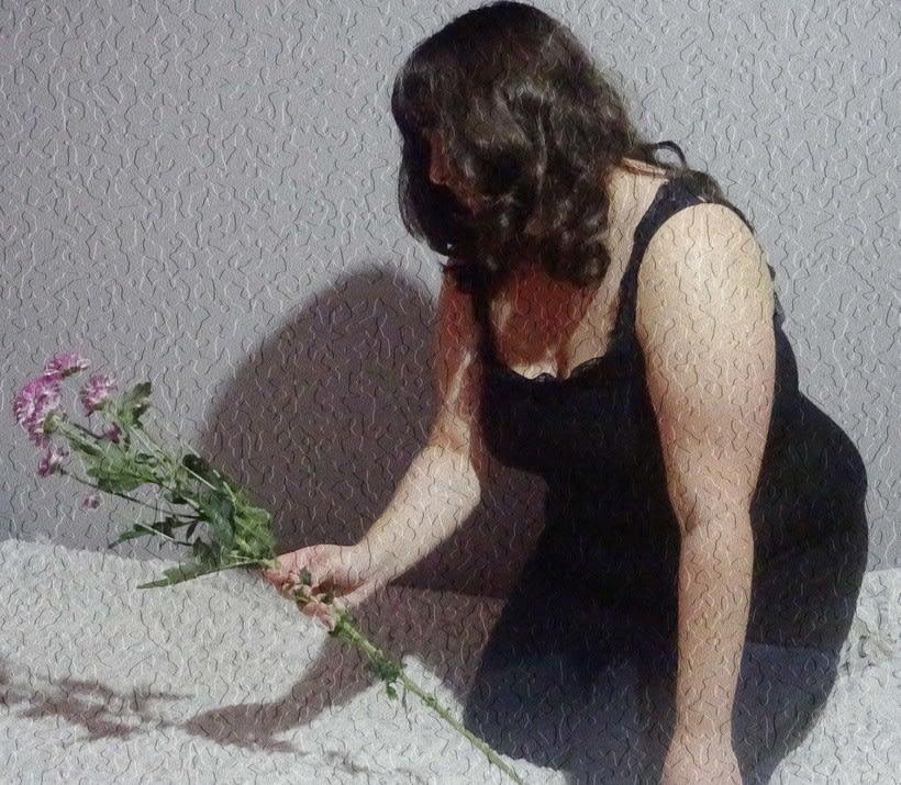 Retratos florales a mi amiga Sara 0