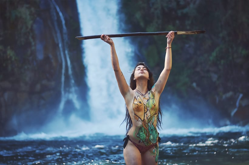 Bodypaint And Nature -1
