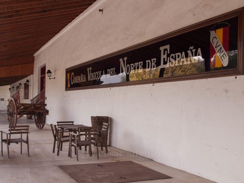 Visita a Bodegas CVNE de Haro 6