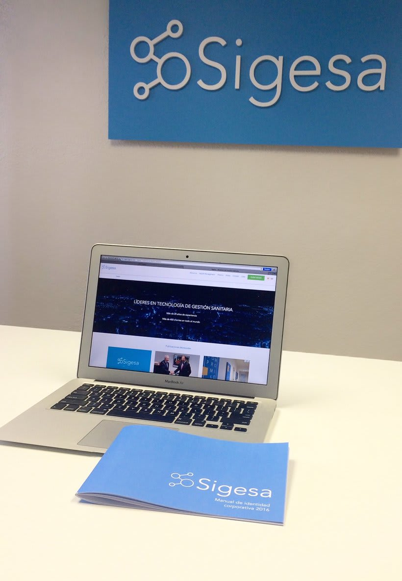 Sigesa's new identity brand 0