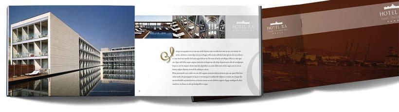Brochure para Hotel RA -1