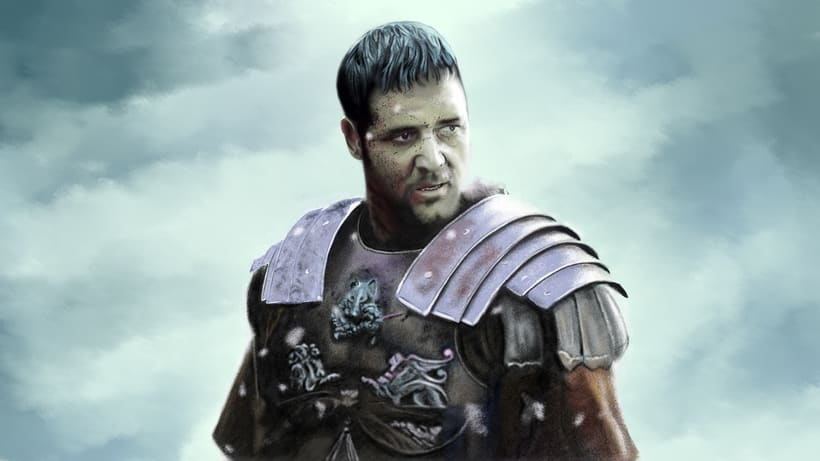 Gladiator. Dibujo de tiempo libre : ) -1