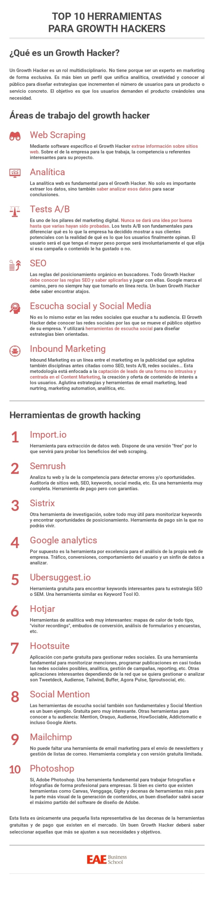 Top 10 herramientas para Growth Hackers -1