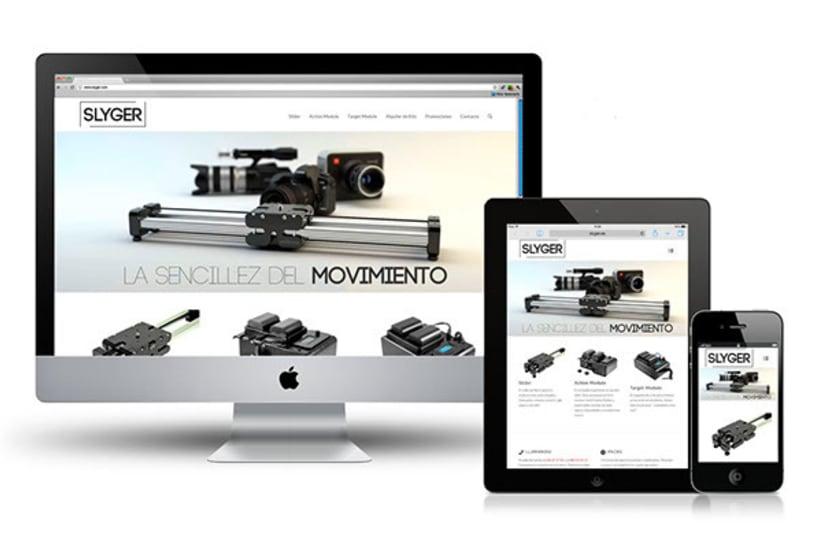 Diseño web Slyger.es -1