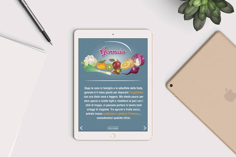 Catálogo interactivo: La spesa di stagione 1