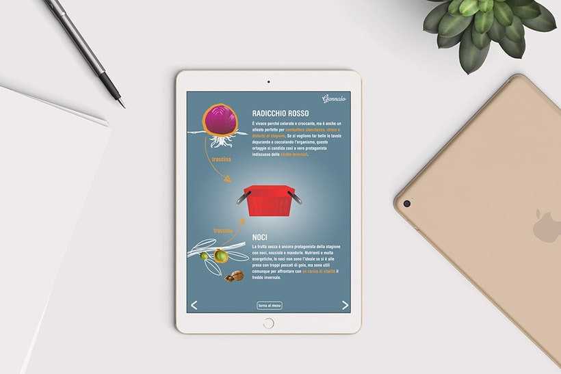 Catálogo interactivo: La spesa di stagione 2