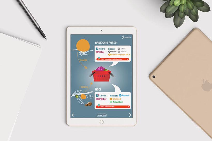 Catálogo interactivo: La spesa di stagione 3