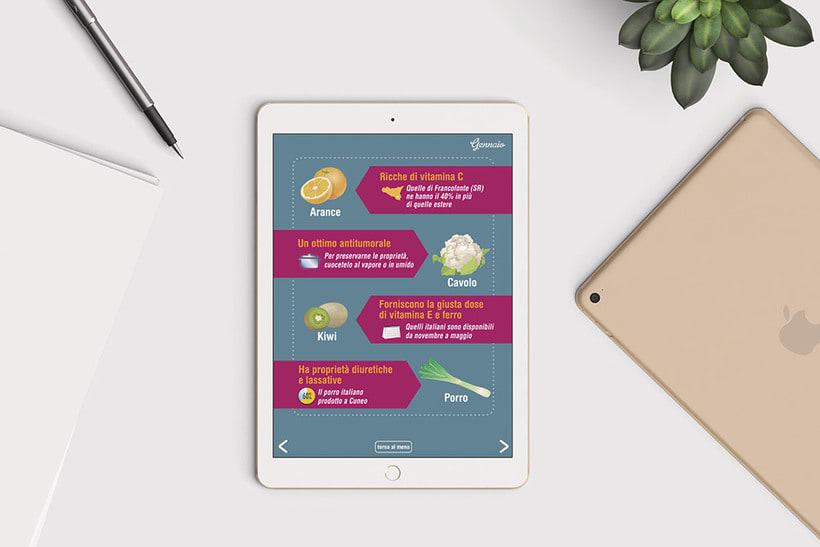 Catálogo interactivo: La spesa di stagione 5