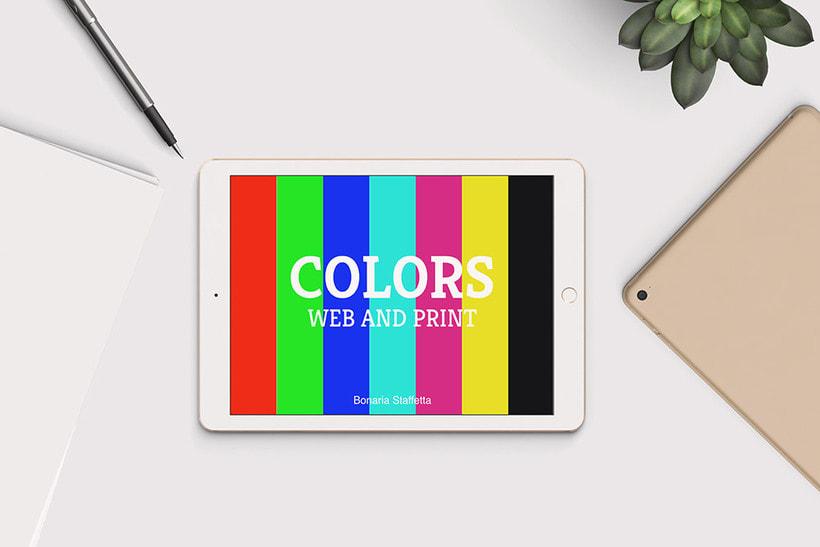 E-book interactivo: Colors, web and print 0