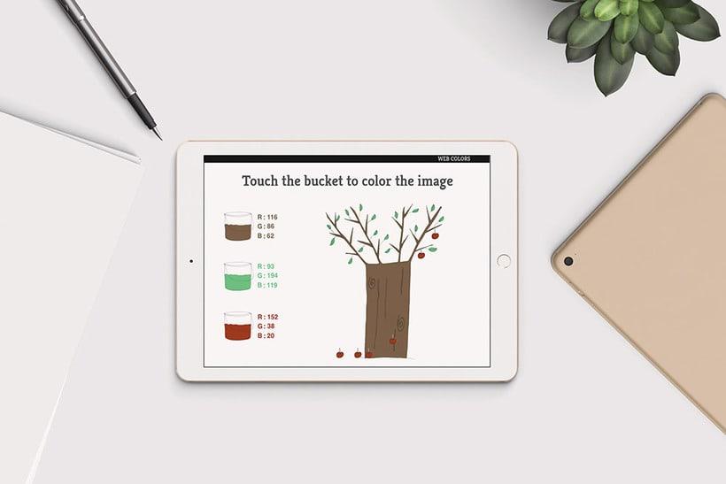 E-book interactivo: Colors, web and print 5