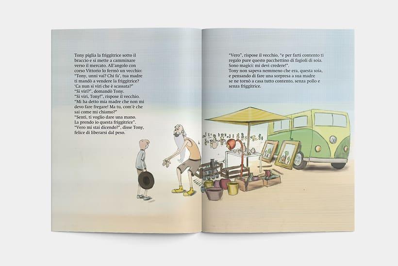Libro: Tony el il fagiolo magico 2
