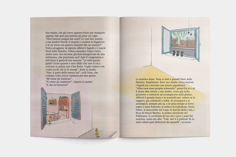 Libro: Tony el il fagiolo magico 3