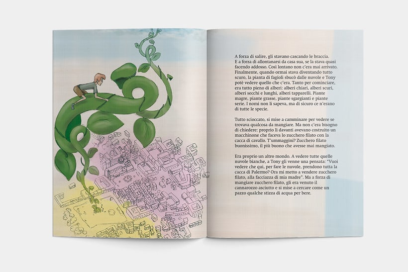 Libro: Tony el il fagiolo magico 4