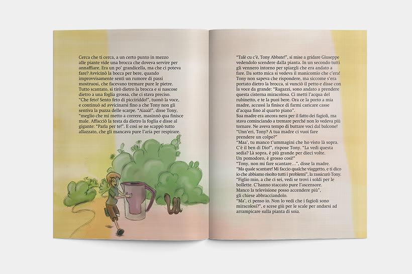 Libro: Tony el il fagiolo magico 6