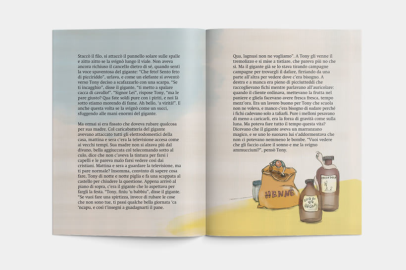 Libro: Tony el il fagiolo magico 7