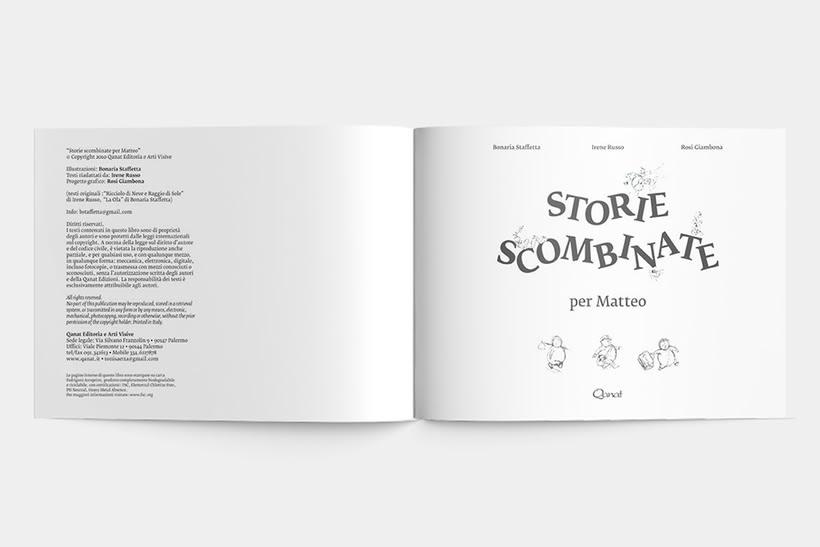 Libro: storie scombinate per Matteo 1
