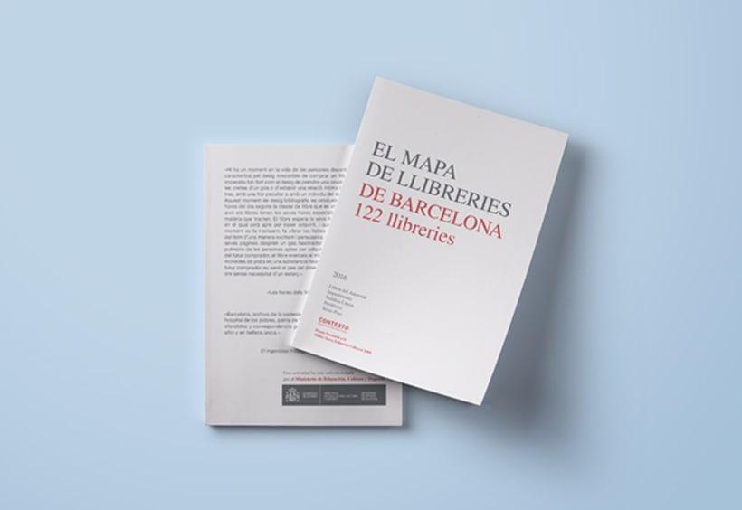 El mapa de llibreries de Barcelona 2