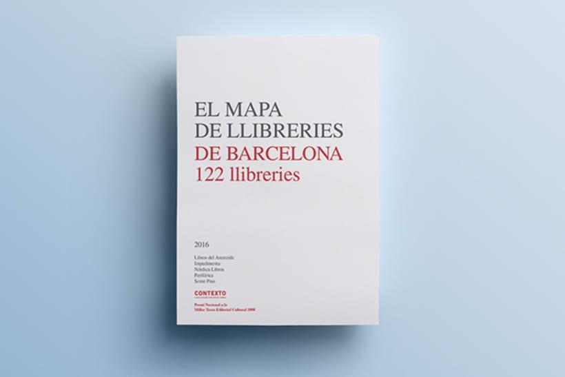 El mapa de llibreries de Barcelona 0
