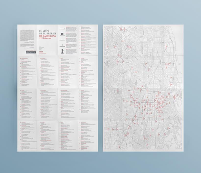 El mapa de llibreries de Barcelona 1