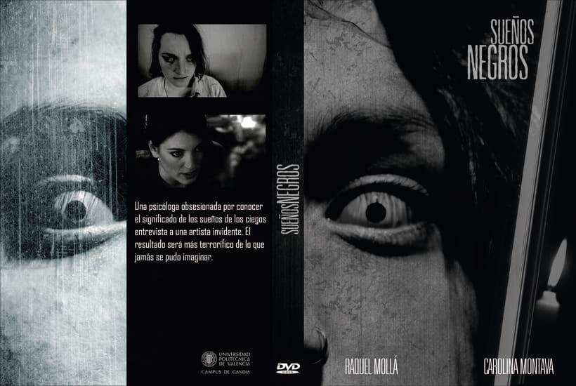 """Cortometraje """"Sueños Negros"""" (Guionista, productor, script, atrezzo) 1"""