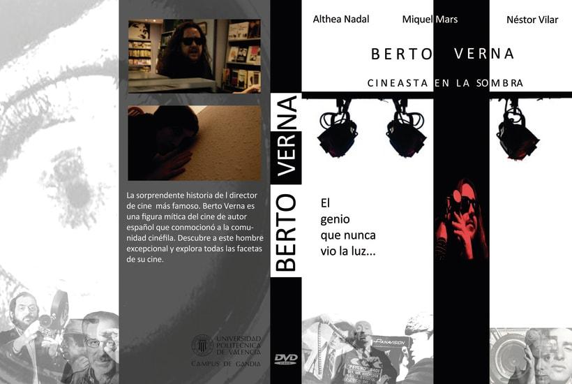 """Cortometraje """"Berto Verna, un cineasta en la sombra"""" (Co-autor) 1"""