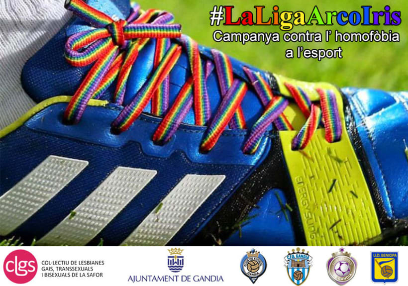 Elaboración de campañas comunicativas para CLGS (Colectivo LGTBI de La Safor) 1