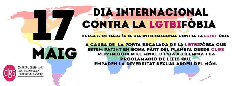 Elaboración de campañas comunicativas para CLGS (Colectivo LGTBI de La Safor) 3
