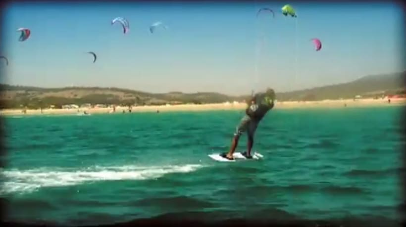 Kite Surf PKRA Tarifa 2007 :: Intro y clips 1