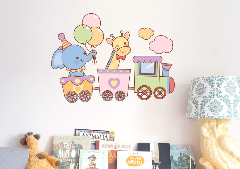 Wall Stickers for Caviar Deco -1