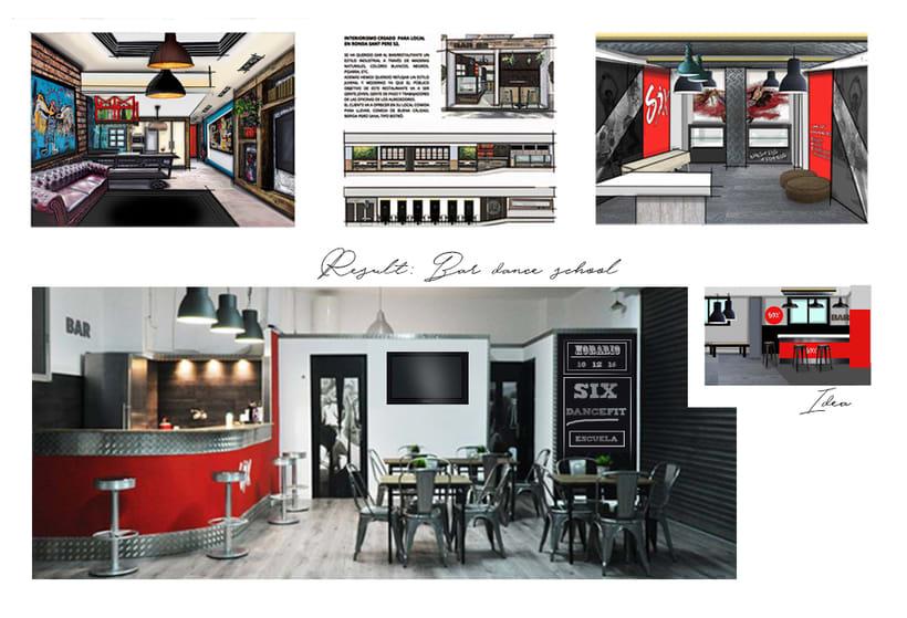 Proyectos: interiorismo de locales y viviendas -1