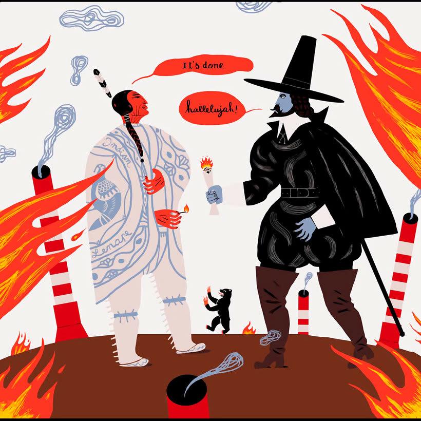 10 artistas ilustran a Leonard Cohen  14