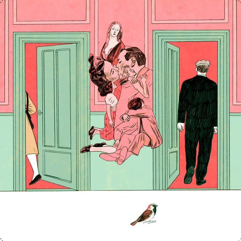 10 artistas ilustran a Leonard Cohen  16