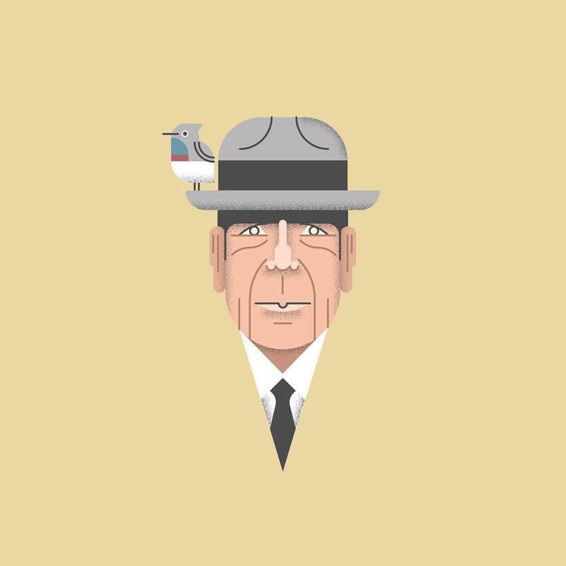 10 artistas ilustran a Leonard Cohen  4