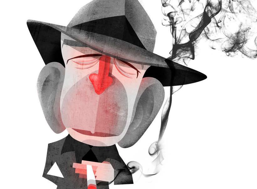 10 artistas ilustran a Leonard Cohen  12