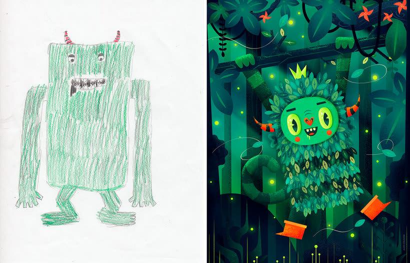 The Monster Project: Dando vida a criatividade 1