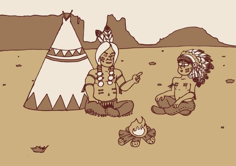Haciendo el indio -1