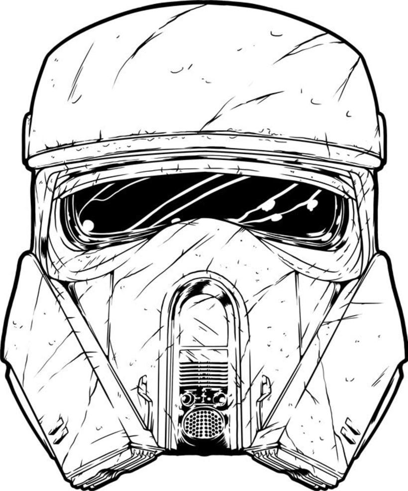 Star Wars -  Rogue One - Shore Trooper Fan Art 0