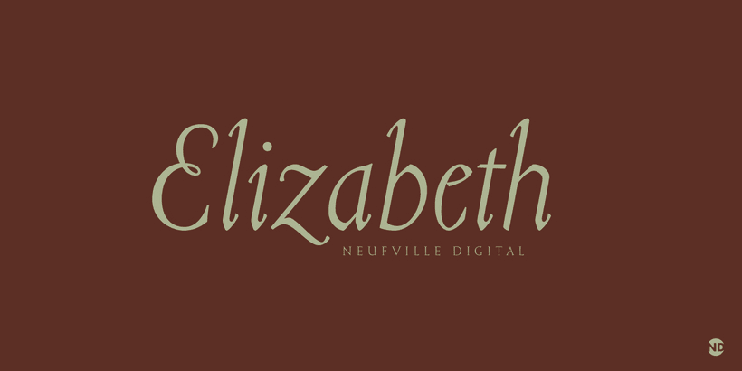Tipografía Elizabeth 0