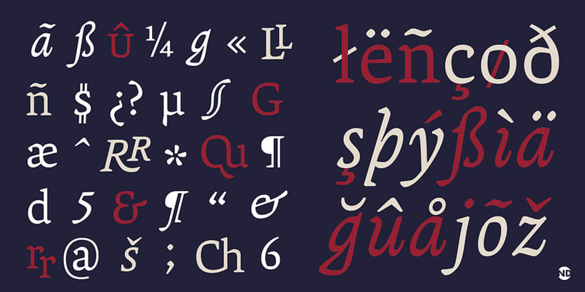 Tipografía Andralis 2