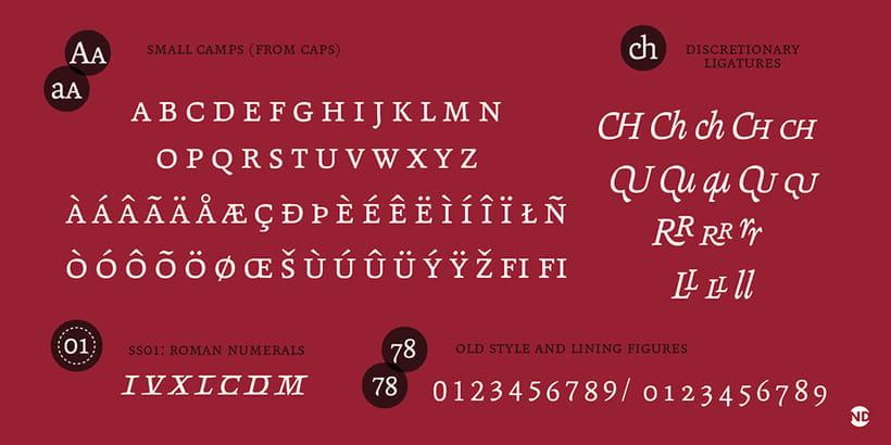 Tipografía Andralis 7