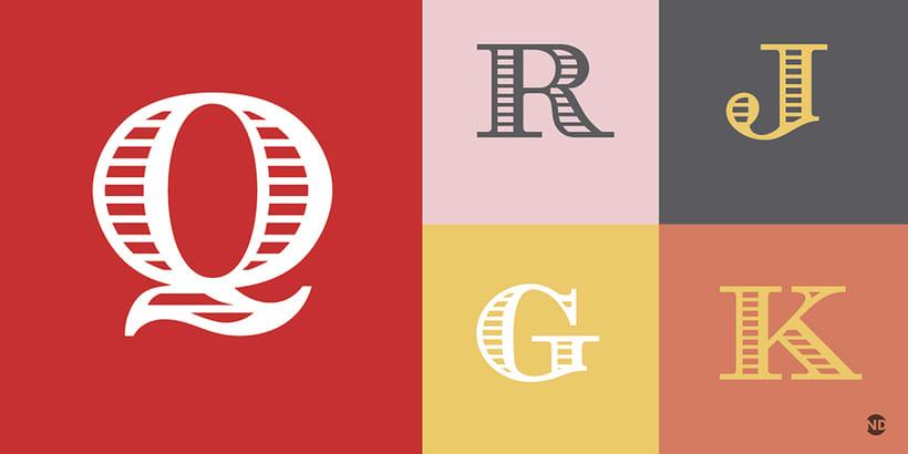 Tipografía AZUREE 3