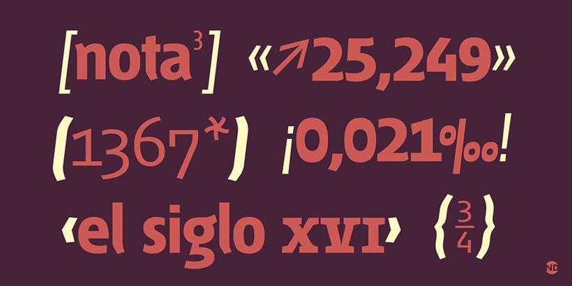 Tipografía Fontana 5
